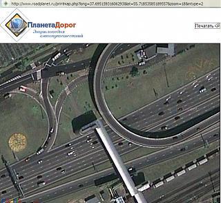 ДТП на развязке Волгоградского проспекта и ТТК в Москве-google_ttk.jpg