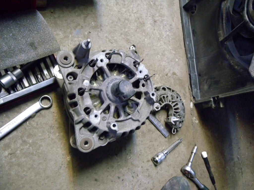 схема генератор bosch 140а
