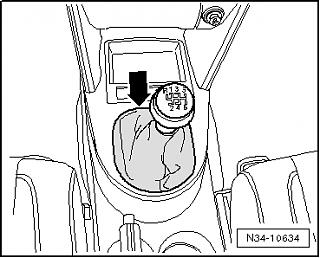 Кожух для рукоятки переключения передач.-n34-10634.png