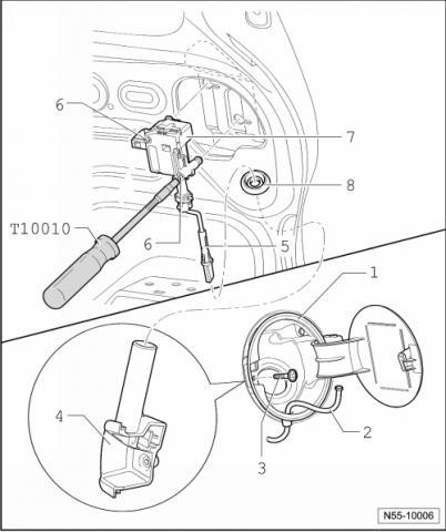 Как снять лючок бензобака на фольксваген транспортер транспортеры прайсы